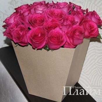 крафт пакет для цветов