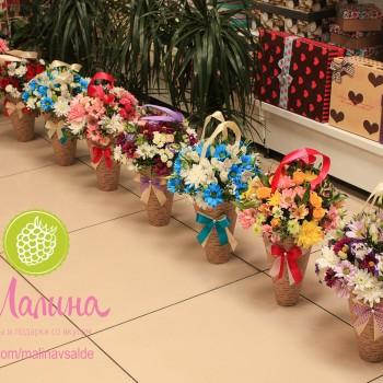 Конусы Фантазия от флористического салона Малина