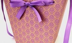 """коробки для цветов из крафта """"Твист"""""""