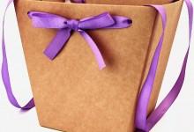 """коробки для цветов """"Крафт ламинированный"""""""