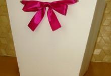 пакеты для цветов  из белого ламинированного картона